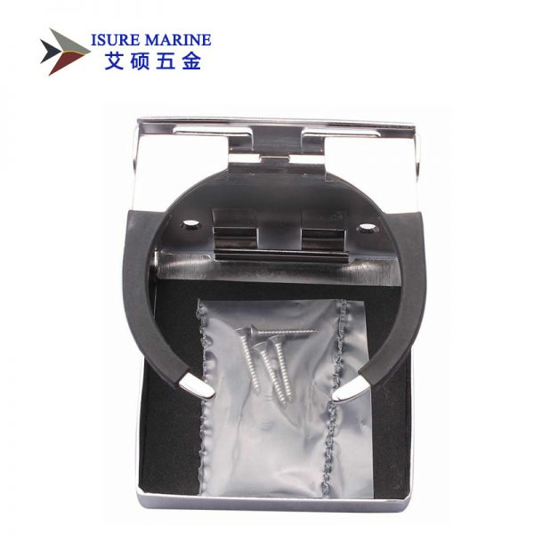 Stainless Steel Folding Boat Cup Holder