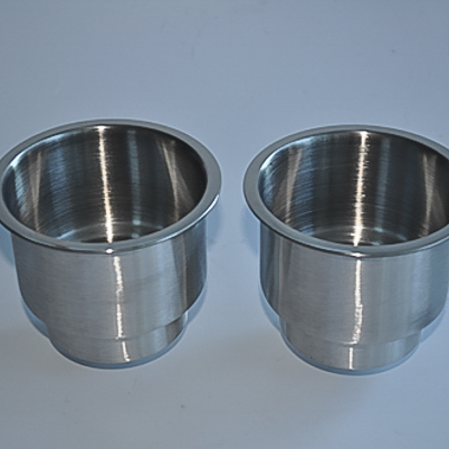 Stainless Steel Cup Drink Holder Marine Boat Car Truck Camper RV