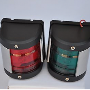 Marine Boat Yacht 12V Starboard/Port LED Navigation Lights Red And Green Pair
