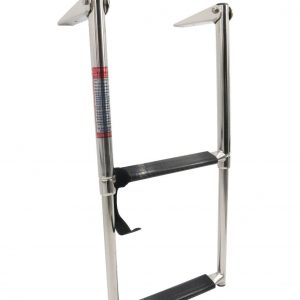 Stainless Steel Marine Boat Telescoping Extension Ladder
