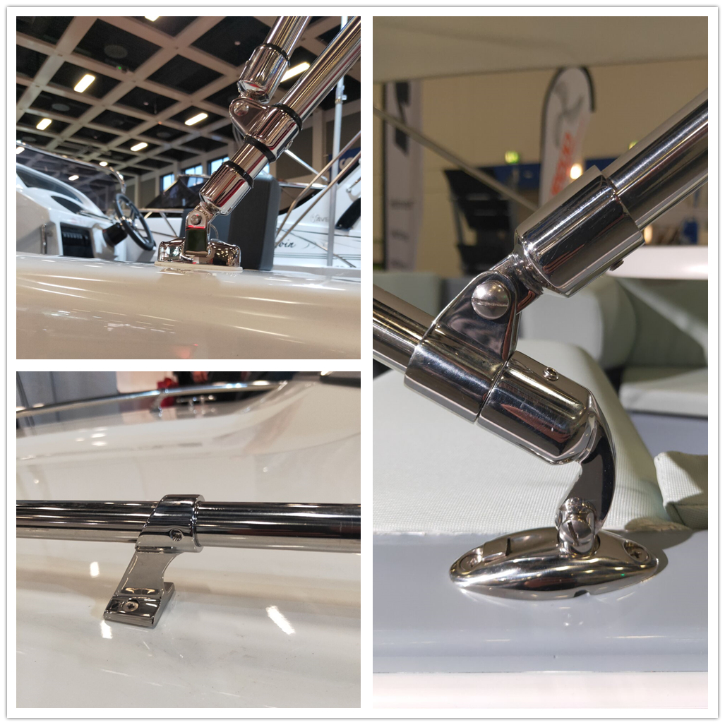 Stainless Steel Bimini Top Hardware